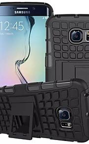 fodral Till Samsung Galaxy Samsung Galaxy-fodral Plånbok Stötsäker med stativ Lucka Skal Rustning PC för S8 Plus S8 S7 edge S7 S6 edge S6