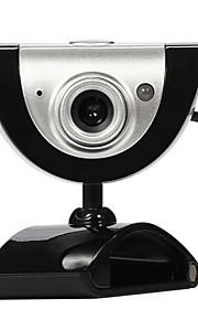 USB 2.0 16m leva cámara web HD con micrófono 9 diferentes efectos de vídeo para Skype PC de escritorio ordenador portátil