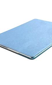 Case Kompatibilitás Apple / iPad Air / iPad Air 2 Állvánnyal / Origami Héjtok Tömör szín Kemény PU bőr mert iPad Air / iPad 4/3/2 / iPad Mini 3/2/1 / iPad (2017)