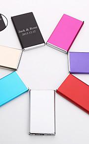 Magnesy - Spersonalizowane Prezent - Aluminium - Czerwony / Czarny / Niebieski / Różowy / Fioletowy / Złoty / Srebrny -