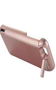 7000mAh eksternt bærbare backup batteri tilfældet for iphone6s / 6 rosa guld