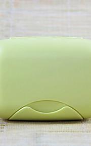 Såpekopp til Reiseoppbevaring Toalettsaker Plast-Rose Grønn Blå