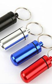 Outdoor First-aid Belt Keychain Portable Sealed Waterproof Cartridge Aluminum Alloy Life-Saving Tank 1