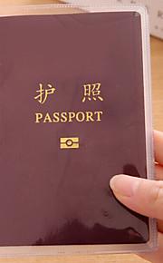 Viagem Porta-Documento Organizadores para Viagem Couro Ecológico