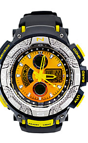 Fashion LED Dual Display Multifunction Electronic Quartz Watches Backlight Waterproof Outdoor Sports Watch