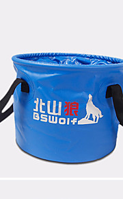 BSWolf 10L PVC Light Blue Cycling Hiking Camping Travel Outdoor Basin