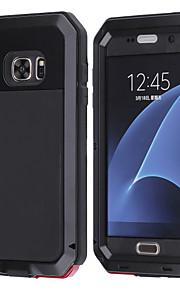 Etui Käyttötarkoitus Samsung Galaxy Samsung Galaxy kotelo Vedenkestävä Iskunkestävä Suojakuori Eläin Kova Metalli varten S8 Plus S8 S7