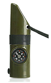 7 in 1 Compass with Survival Whistle