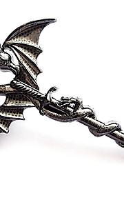 mand halskæde, rustfrit stål tilbehør - Djævelen cross