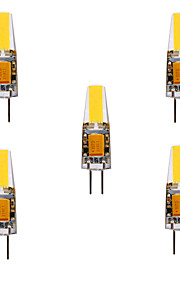 ywxlight® 5pcs 5w 200-300lm g4 οδήγησε τα δύο πινάκια φώτα τσιπ 360 φώτα γωνίας δέσμης αντικαταστήστε 30w αλογόνου g4 προβολέας ac / dc12-24v