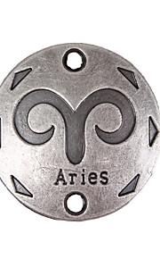 Cirkelformet Geometrisk form Legering Smykker For 20pcs
