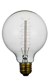 E27 40W G95 Ground The Silk Nostalgia Scene Wedding Edison Retro Decorative Light Bulbs