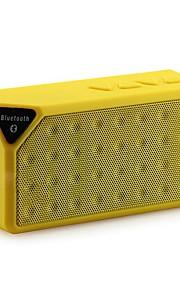 Mini Bluetooth Speaker X3 TF USB FM Radio Wireless Portable Music Sound Box Subwoofer Loudspeakers with Mic