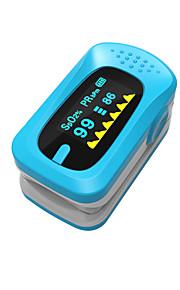Ying Shi Импульсные палец оксиметрах ручной ЖК-дисплей с аккумуляторной батареей голос / память белый / красный / зеленый / синий / оранжевый