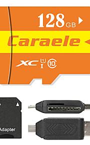 Caraele 128GB Micro SD kort TF Card hukommelseskort UHS-I U1 Class10