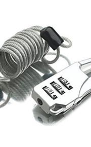 Cadeado para Mala Cadeado Cadeado com Código Dígito Anti-Roubo fechamento codificado Mini Tamanho Acessório de Bagagem Para Malas de