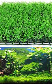 Akváriumdíszek Vízi növény Mesterséges Műanyag