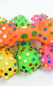 Жевательные игрушки Интерактивный Игрушка для очистки зубов Игрушки с писком Мультипликация Скрип Эластичный Прочный Halloween Гиря