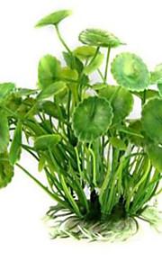קישוט אקווריום צמח מים אינו רעיל וחסר טעם פלסטי