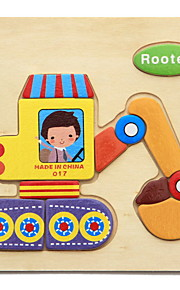 Quebra-Cabeça Quebra-Cabeças de Madeira Brinquedo Educativo Brinquedos Animais Faça Você Mesmo Crianças 1 Peças