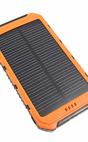 10000mah power bank externe batterij 5v 3.1a # batterijlader waterdichte multi-output solar charge led