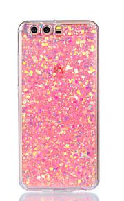 fodral Till Huawei P9 Lite Huawei Huawei P8 Lite Mönster Skal Glittrig Mjukt Akrylfiber för P10 Lite P10 Huawei P9 Lite P8 Lite (2017)