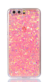 Case For Huawei P9 Lite Huawei Huawei P8 Lite Pattern Back Cover Glitter Shine Soft Acrylic for P10 Lite P10 Huawei P9 Lite P8 Lite