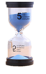 Timeglas Legetøj And Cylinder-formet Møbler artikler Glas Plast Unisex Stk.