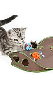 Brinquedo Para Gato Brinquedos para Animais Interativo Rato de Brinquedo Tapete de Arranhar Durável Tecido Para animais de estimação