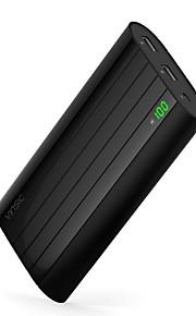 20000 mAh Voor Power Bank externe batterij 5 V Voor 1 A / 2 A Voor Oplader Meerdere uitgangen / Automatische stroomaanpassing / Super plat LED