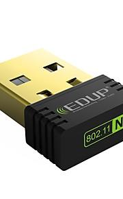 Edup usb trådløs wifi adapter 150mbps trådløst netværkskort ep-n8553