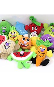 Brinquedo Para Cachorro Brinquedos para Animais Brinquedos para roer rangido Fruta Algodão Para animais de estimação