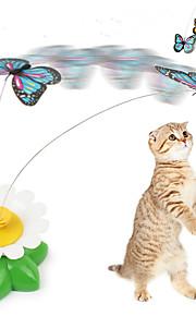 Brinquedo Para Gato Brinquedos para Animais Brinquedo de Provocação Borboleta Para animais de estimação