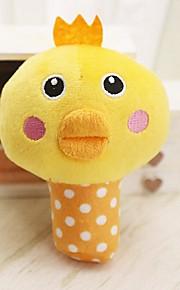 Плюшевые игрушки Милый стиль Скрип Эластичный Прочный Курица и цыпленок Цыпленок Ткань Полиэстер Назначение Кошка Собака