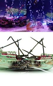 דגים קישוט אקווריום קישוטים קישוט שרף פלסטי