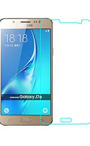 Vetro temperato Proteggi Schermo per Samsung Galaxy J7 Proteggi-schermo frontale Alta definizione (HD) Durezza 9H Estremità angolare a