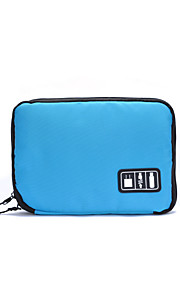 Travel Bag Travel Luggage Organizer / Packing Organizer Portable for Clothes USB Cable Oxford Cloth 24*16*2