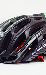 Мотоциклетный шлем Шлем CE Велоспорт 36 Вентиляционные клапаны Ультралегкий (UL) Спорт Молодежный Шоссейные велосипеды Велосипедный спорт