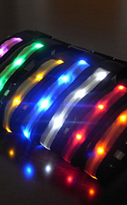 Colarinho Reflector Luz LED Estroboscópio Sólido Náilon