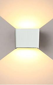 jiawen 6w 480lm οδήγησε τοίχο φως απλό / μοντέρνο / επάνω κάτω οδήγησε σκάλα κομοδίνο φωτισμό υπνοδωμάτιο ανάγνωση τοίχο λαμπτήρα βεράντα σκάλα διακόσμηση φως ac85-265v