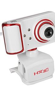 usb kamera obrotowa kąt ostrości komputer pc wbudowany mikrofon / 3 diody / styl klipu / hd display