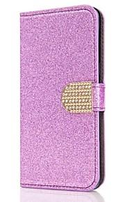 Custodia Per Samsung Galaxy S8 Plus S8 A portafoglio Porta-carte di credito Con diamantini Con supporto Con chiusura magnetica A calamita