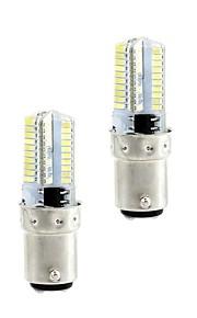 4W G4 LED-kornpærer 80 360 lm Varm hvit Hvit 3000-3500  6000-6500 K Mulighet for demping AC110 AC220 V 2pcs