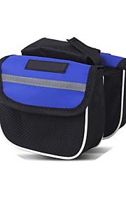Bike Bag 20L Bike Handlebar Bag Bike Frame Bag Cycling Phone/Iphone Casual Bicycle Bag 600D Polyester Cycle Bag Road Cycling Recreational