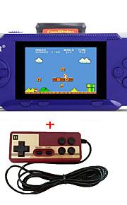 портативные rs-2a игровые плейеры 3.2 игровая приставка для детей 300 классическая поддержка игр av port free картридж 2-й контроллер