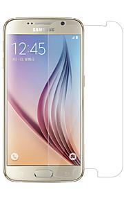 Vetro temperato Proteggi Schermo per Samsung Galaxy S6 Proteggi-schermo frontale Alta definizione (HD) Durezza 9H Estremità angolare a