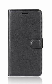 Custodia Per Sony Xperia L2 Xperia XZ2 Porta-carte di credito A portafoglio Con chiusura magnetica A calamita Integrale Tinta unica