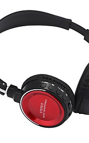 אוזניות אלחוטיות דינאמי פלסטיק אוזניות סטריאו עם מיקרופון עם אוזניות בקרת עוצמת הקול