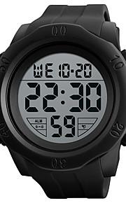 SKMEI Homens Digital Relogio digital Relógio Esportivo Relógio Casual Silicone Banda Amuleto Preta Verde
