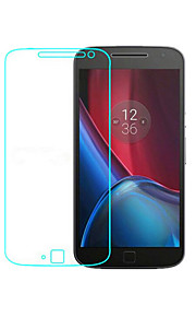 Tempered Glass Screen Protector for Motorola MOTO G4 Front Screen Protector High Definition (HD) 9H Hardness 2.5D Curved edge